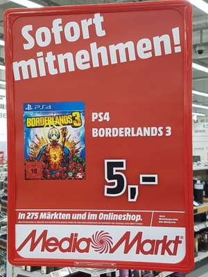 [Lokal Elmshorn Mediamarkt] Borderlands 3 PS4