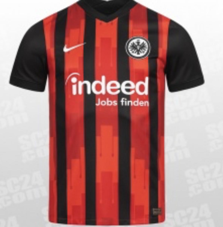 Eintracht Frankfurt Heimtrikot 2021 in Größe M und S