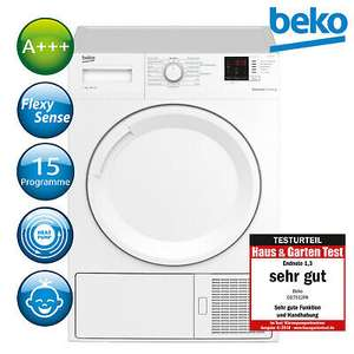 [ebay] Beko Trockner A+++ Wärmepumpentrockner Wäschetrockner DS7512PA 7kg zu 359,91€