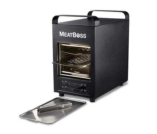 MeatBoss Elektrischer Hochtemperaturgrill