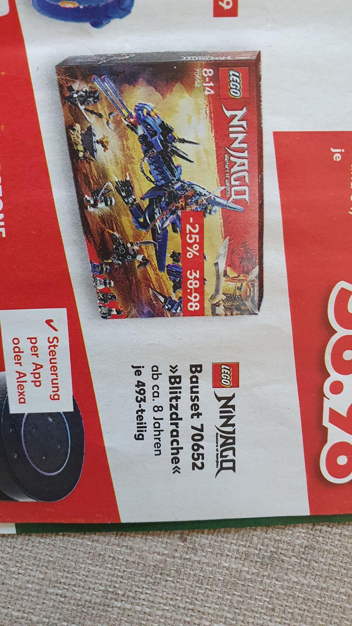 [Kaufland lokal] Lego Ninjago 70652 Blitzdrache