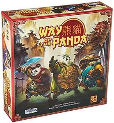 Way of the Panda (NK: 15,89€ - Brettspiel, Gesellschaftsspiel)
