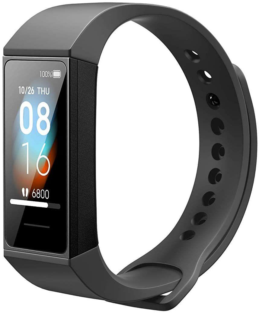 Xiaomi Mi Band 4C Fitness Tracker (1,08 Zoll Display, bis 14 Tage Laufzeit, wasserdicht bis 5 ATM)