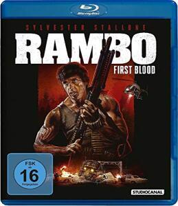 Rambo - First Blood (Digital Remastered Blu-ray) für 5,99€ (JPC)