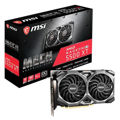 MSI Radeon RX 5500 XT Mech 8G OC Grafikkarte + Godfall für 167,70€ (NBB über eBay)