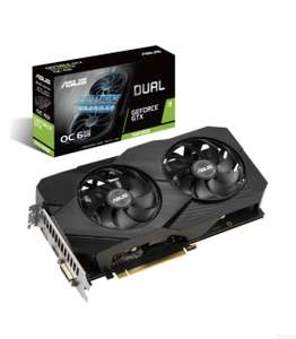ASUS Dual GeForce GTX 1660 SUPER Advanced Evo
