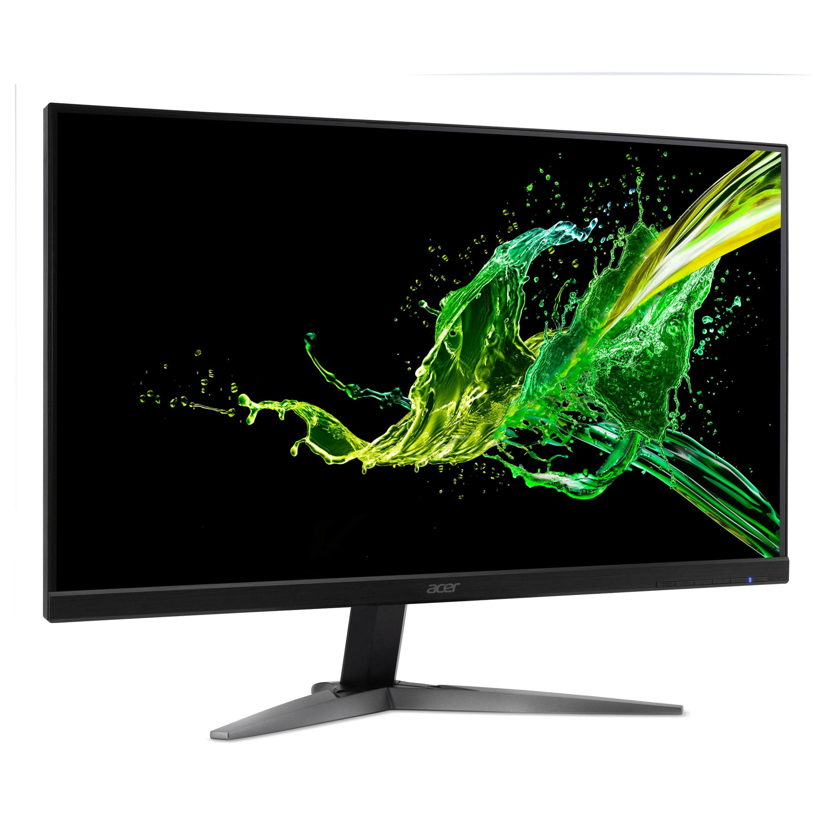 """Acer KG271UA (27"""", WQHD, TN, 144Hz, FreeSync, 350cd/m², 6bit+FRC, HDMI 2.0 & 1.4, DP 1.2, Lautsprecher, VESA, 2J Garantie)"""