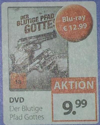 [Bluray] Der blutige Pfad Gottes 12,99€ (DVD 9,99) bei Müller