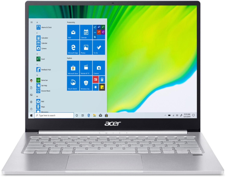 """NBB-Wochenangebote [KW37]: z.B. Acer Swift 3 (13.5"""", 2256x1504, IPS, i7-1065G7, 16GB RAM, 1TB SSD, TB3, HDMI, Tastaturbel., Win10, 1.19kg)"""