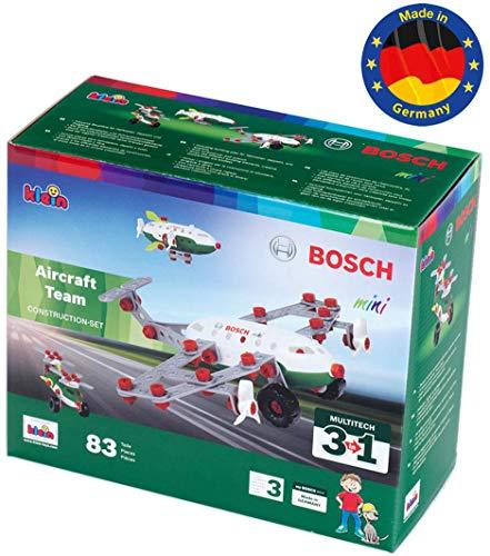 Theo Klein Bosch Konstruktionsset, 3 in 1 Aircraft Team für 15,53€ (Amazon Prime & Real Abholung)