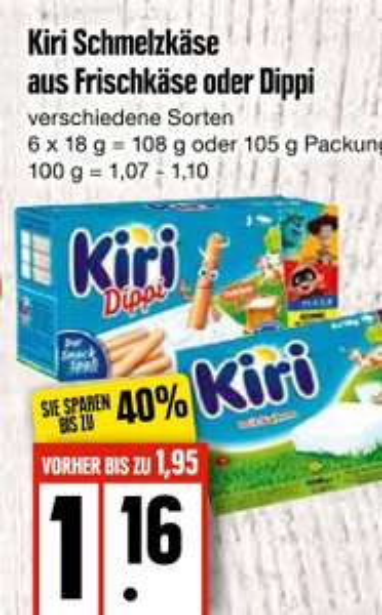 [Edeka Nord] Kiri Dippi mit Coupon für 0,66€ oder mit Scoondo und Reebate Cashback effektiv gratis mit 14 Cent Gewinn