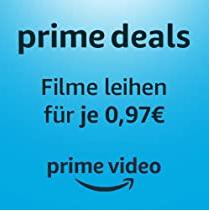Prime Deals - ausgewählte Filme leihen für je 0,97€ [Amazon]