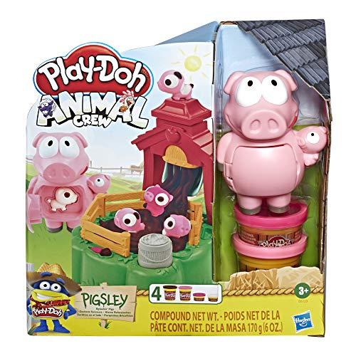 Hasbro Play-Doh - Animal Crew Pigsley Kleine Schweinchen Spielset inkl. vier Dosen Knete für 8,96€ (Amazon Prime)