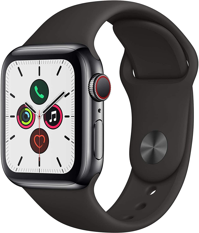 Sammeldeal Apple Watch Series 5 Edelstahl GPS+Cellular LTE z.B. 44 mm Silber 561,64€ // 40 mm Grau 528,72€ // 40 mm Milanese 666,48€