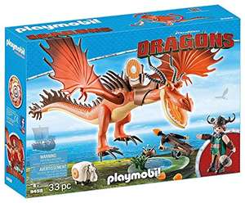 Playmobil Dragons - Rotzbakke und Hakenzahn (9459) für 18,83€ (Amazon Prime)