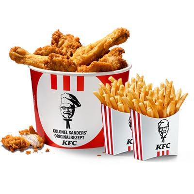 Jetzt bei KFC: Der Bucket to go!