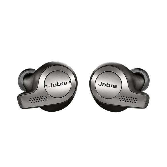 [Jabra Store] Jabra Elite 65t Kabellose Bluetooth Kopfhörer (Titan/Schwarz, generalüberholt)