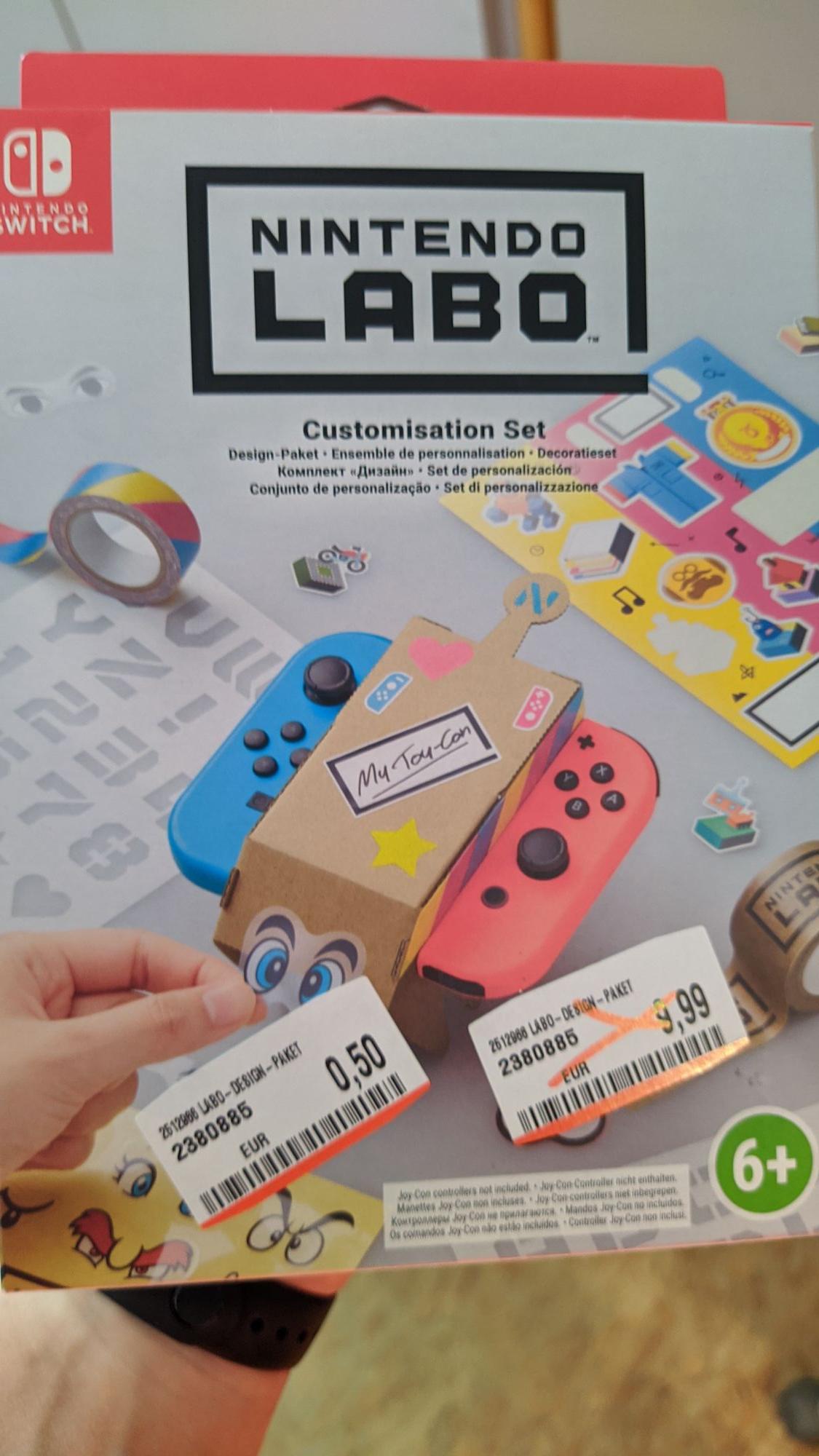 Mediamarkt Straubing NINTENDO Labo: Design-Paket, Nintendo Switch Sticker