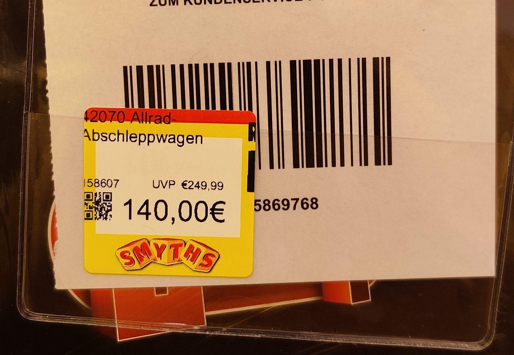 Lokal (LU) Lego 42070 Truck 140€