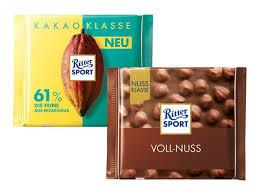 Ritter Sport Schokolade Nuss / Kakao-Klasse versch. Sorten für 87 Cent [Netto MD]