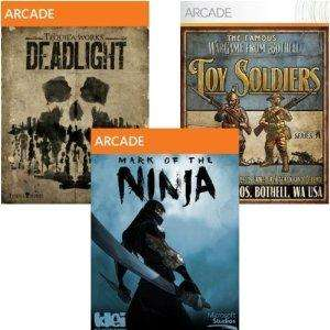AKTIV [STEAM] AMAZON.COM Microsoft 5-Game Arcade Pack mit Deadlight, Mark of the Ninja, Insanely Twisted Shadow Planet, Iron Brigade, Toy Soldier