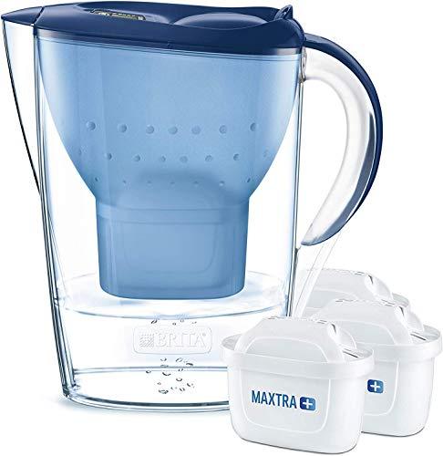 BRITA Wasserfilter Marella Cool (Blau) Starterpaket inkl. 3 MAXTRA+ Filterkartuschen für 18,98€ (Amazon Prime)