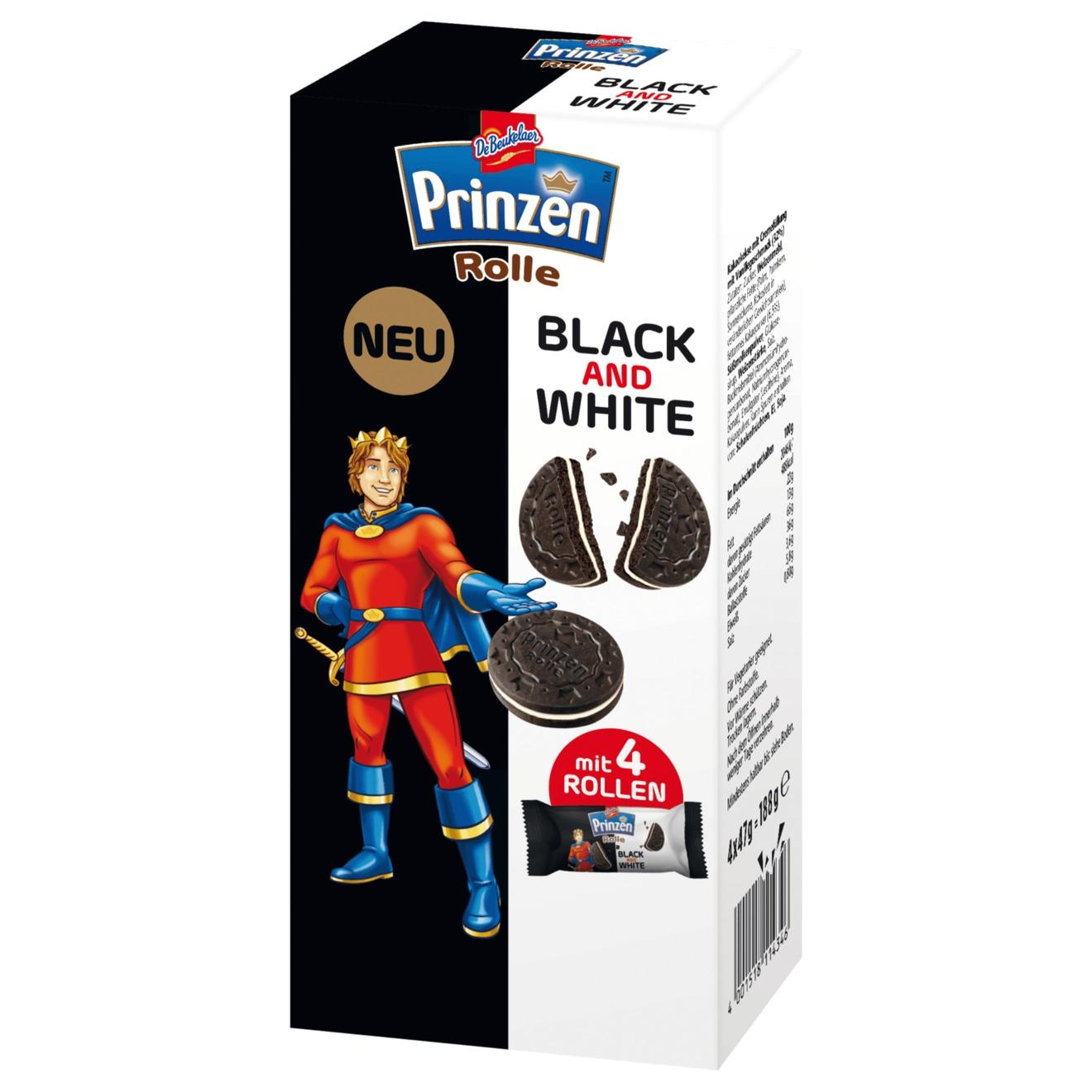 [Kaufland ab 10.09] De Beukelaer Prinzenrolle Black And White 188g Packung für 0,47€ durch Coupon