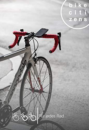Bike Citizens Finn - Die universelle Smartphone Halterung für jedes Rad und jedes Handy. Mit Rad Navigation - mit Amazon Prime versandfrei