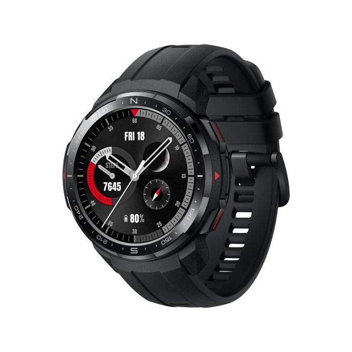 "Early Bird Deal: Honor Watch GS Pro (1.39"" AMOLED, 454x454, ~25d Akku, GPS + Höhenmesser + Routen, HR- & SpO2-Messung, 4GB Musikspeicher)"
