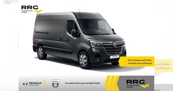 [Gewerbeleasing] Renault Master Kastenwagen L2H2 3,3t dCi 135 | 24 Monate | 10tKM pro Jahr für 119,21€ (netto)