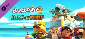 Overcooked! 2 DLC Surf 'n' Turf Gratis mit Xbox Game Pass Ultimate