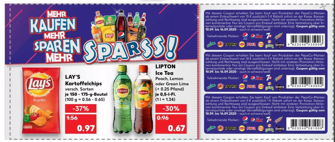 [Kaufland Do-Mi] 23x Lipton Eistee für 10,41€ (Stückpreis = 0,45€)