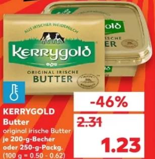 [Kaufland] Kerrygold Original Irische BUTTER für nur 1,23€