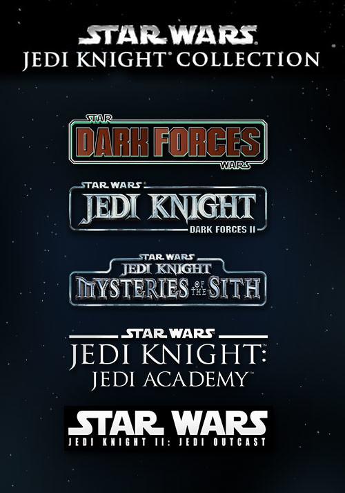 [PC - Steam] Star Wars Jedi Knight Collection: Jedi Outcast + Jedi Academy + Mysteries of the Sith + Dark Forces I & II