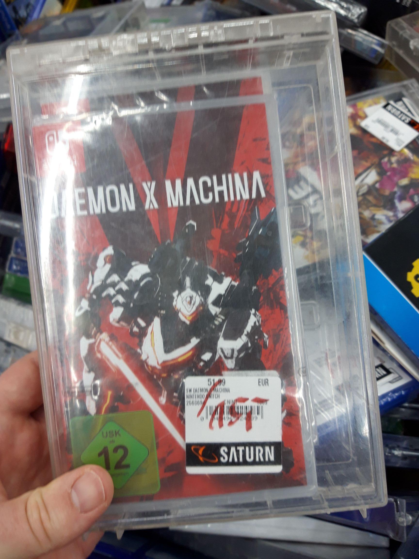 Lokal Saturn - Daemon X Machina Switch NRW Oberhausen Centro