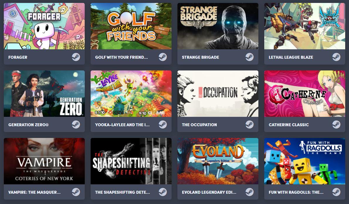 Humble Choice (Steam) mit 3 Spielen für 13,99€ (u.a. Forager, Golf with Your Friends, Lethal League)