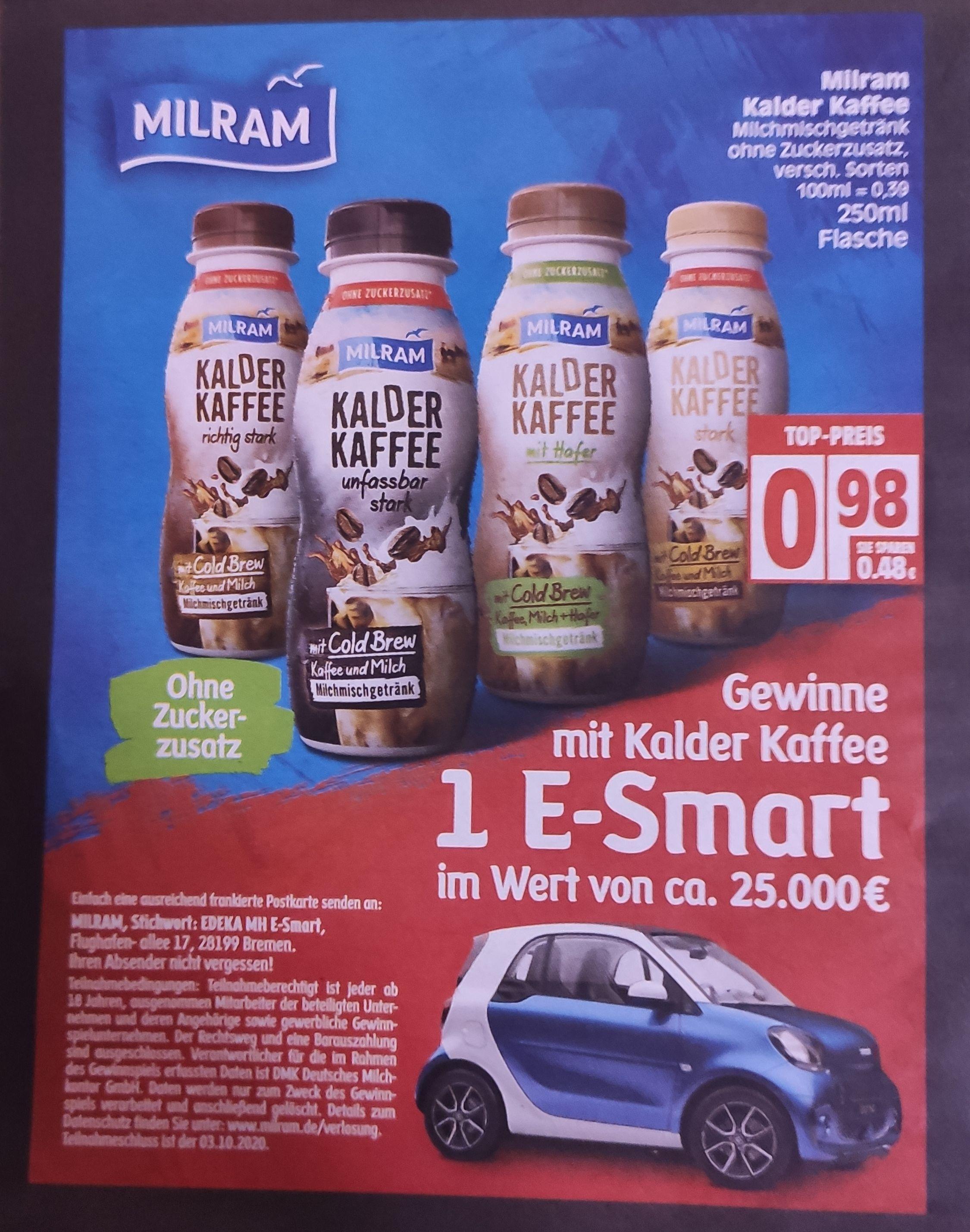 [Edeka Minden-Hannover] Kalder Kaffee mit Coupon für 0,48€