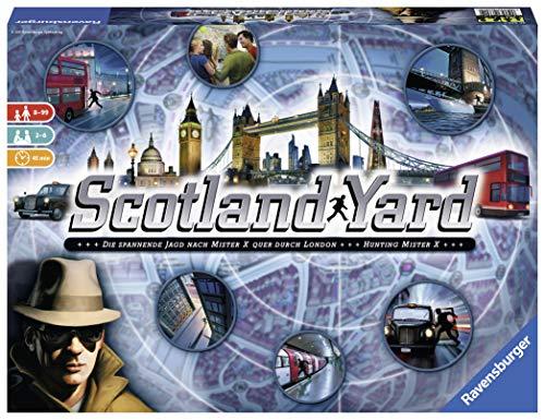 Ravensburger Scotland Yard, Brettspiel, Gesellschafts- und Familienspiel für 20,60€ (Amazon Prime & Saturn Abholung)
