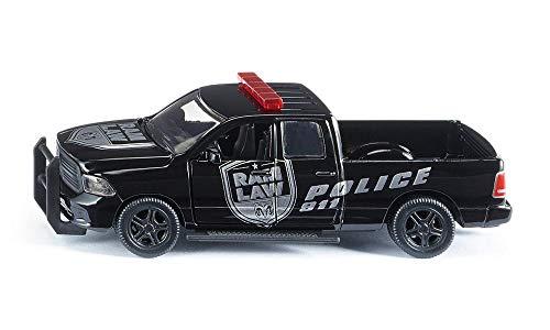 SIKU Dodge Ram 1500 Polizeiauto, 1:50, Metall/Kunststoff, Abnehmbare Reifen,Bewegliche Teile für 7,46€ (Amazon Prime & Saturn & Media Markt)