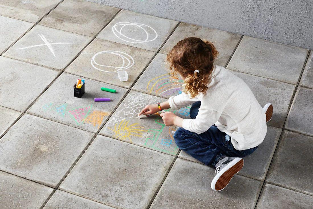 [am 20.9 ist Weltkindertag] MÅLA Straßenkreide Gratis bei Ikea Newsletter Anmeldung
