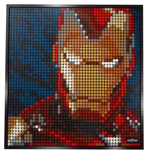 Lego Art Marvel Studios Iron Man 31199 mit Gutschein nach Newsletteranmeldung