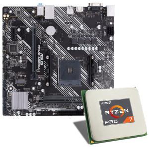 AMD Ryzen 7 PRO 4750G / ASUS PRIME A520M-K Mainboard Bundle