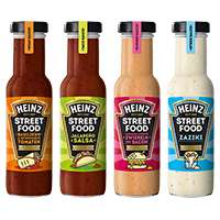 [REAL] 0,99€ pro Flasche - 2 x Heinz Streetfood Saucen 235ml Flasche mit 1€ Sofort-Rabatt