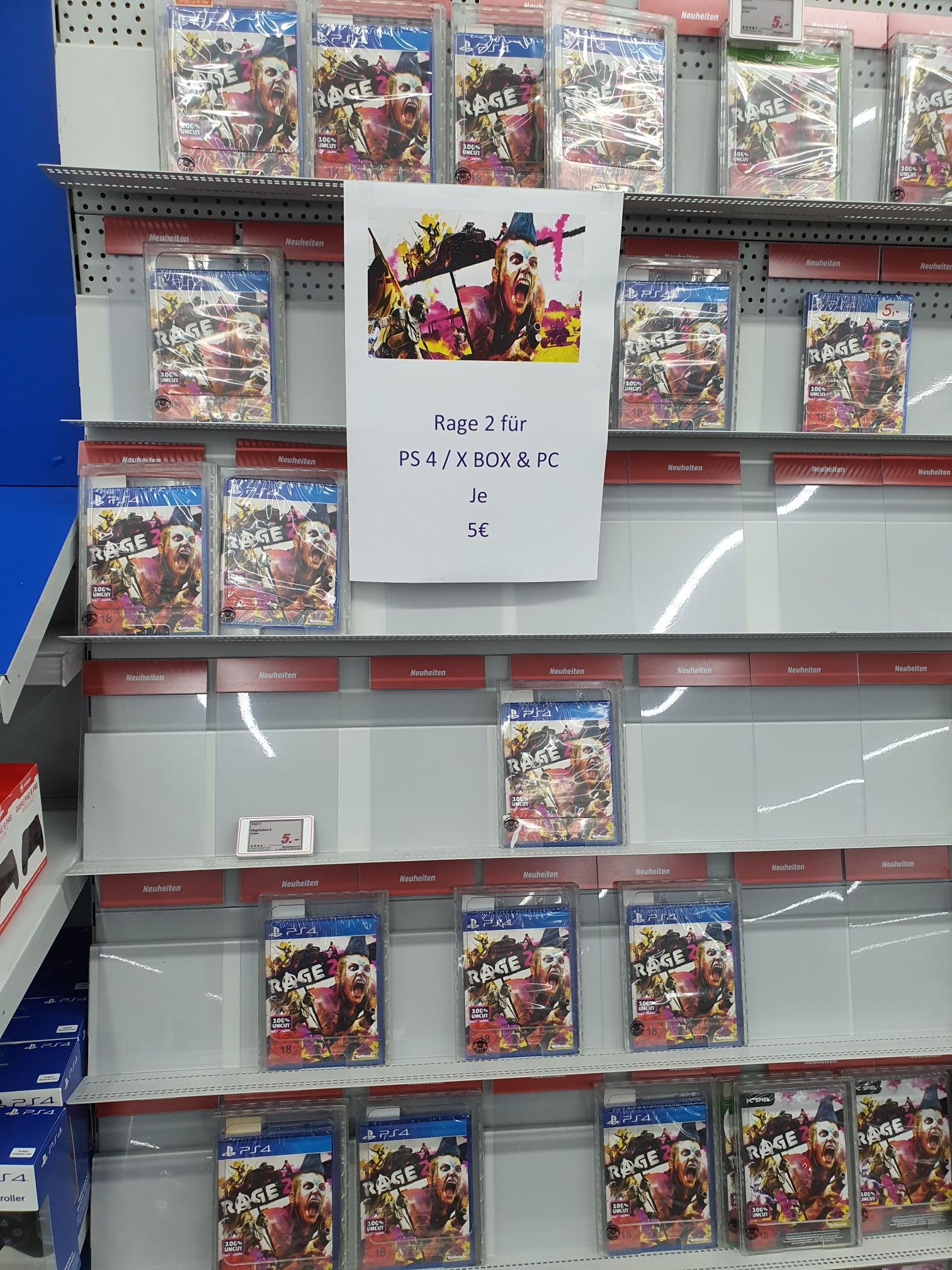 Lokal Media Markt Reutlingen Rage 2 Playstation 4 und Xbox One