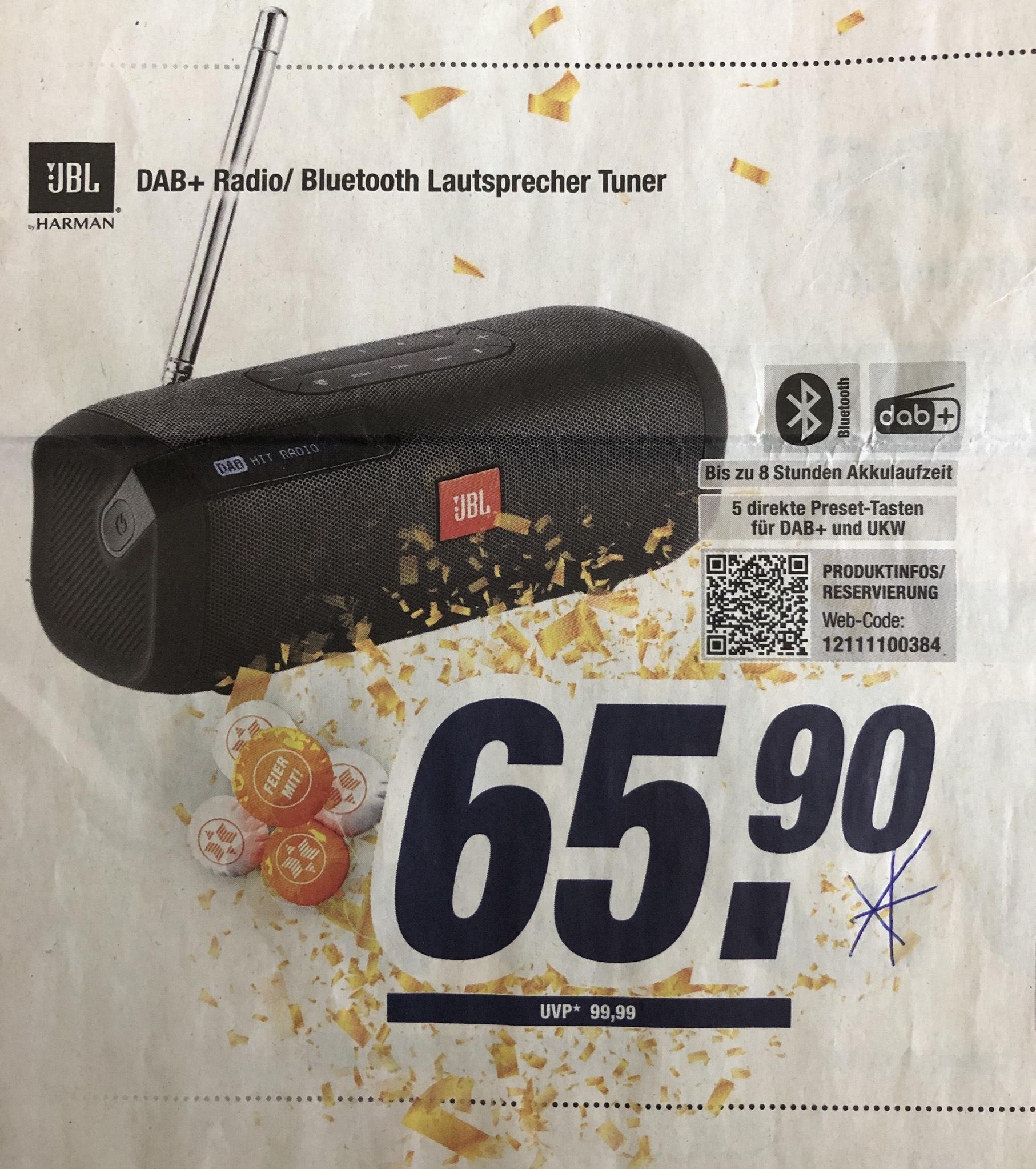 JBL DAB+ Tuner Radio Bluetooth Lautsprecher 65,90€ expert online