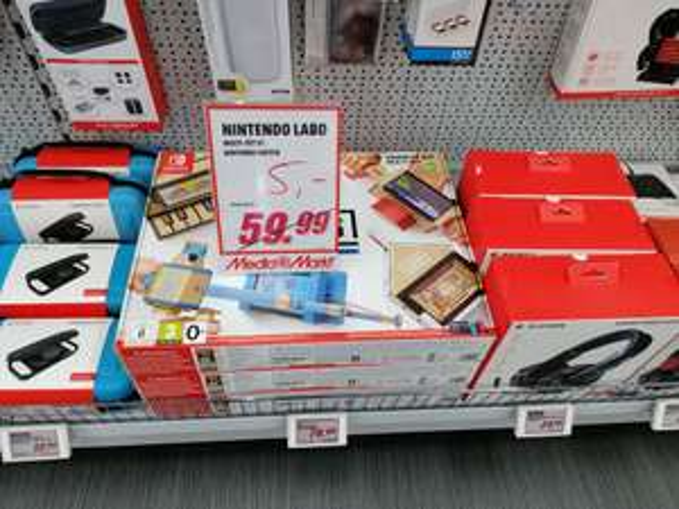 Nintendo Labo Toy-Con 01 Multi-Kit (Lokal Media Markt Peine)