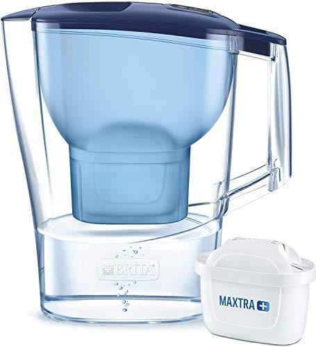 Brita Wasserfilter Aluna, inkl. 1 Maxtra+ Filterkartusche (Blau) für 9,74€ (Amazon Prime)