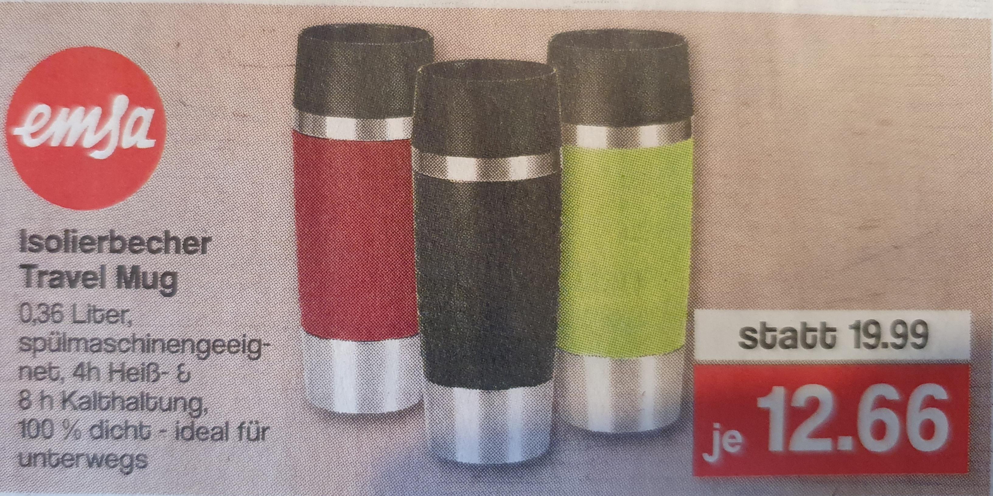 Emsa Travel Mug 0,36l div Farben offline/lokal Famila Nordwest