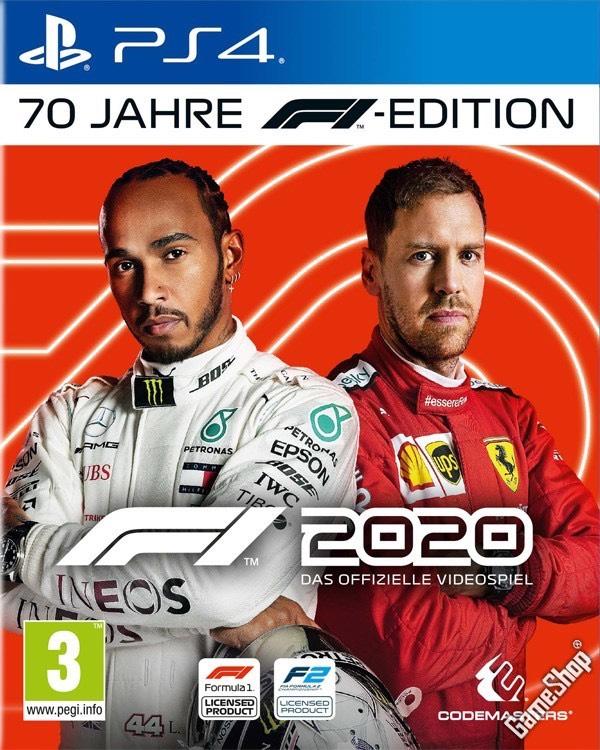 F1 (Formula 1) 2020 (70 Jahre Edition) (PS4)