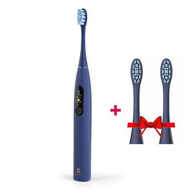 Oclean X Pro Elektrische Zahnbürste mit 2 Ersatzköpfen
